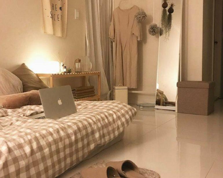pencahayaan kamar yang hangat