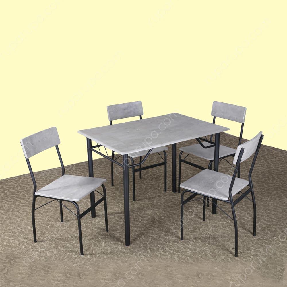 set-meja-makan-4-kursi
