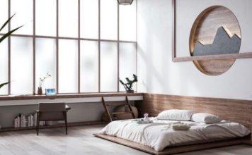dekorasi kamar ala japandi
